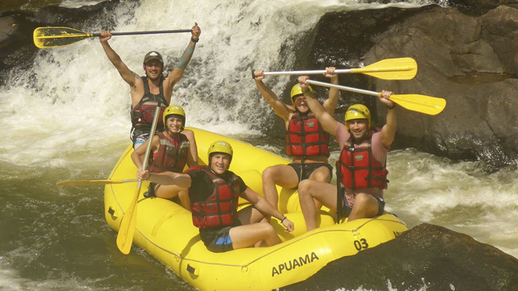 aventuras ao ar livre rafting