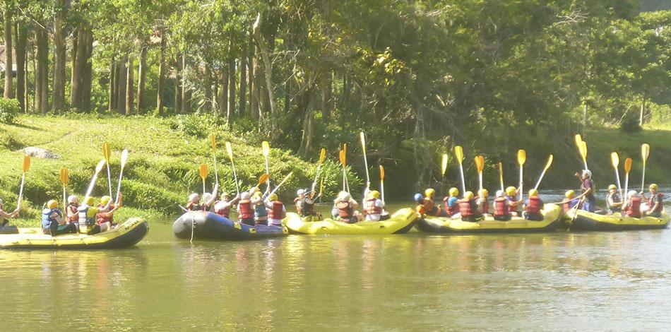 rafting empresarial apuama