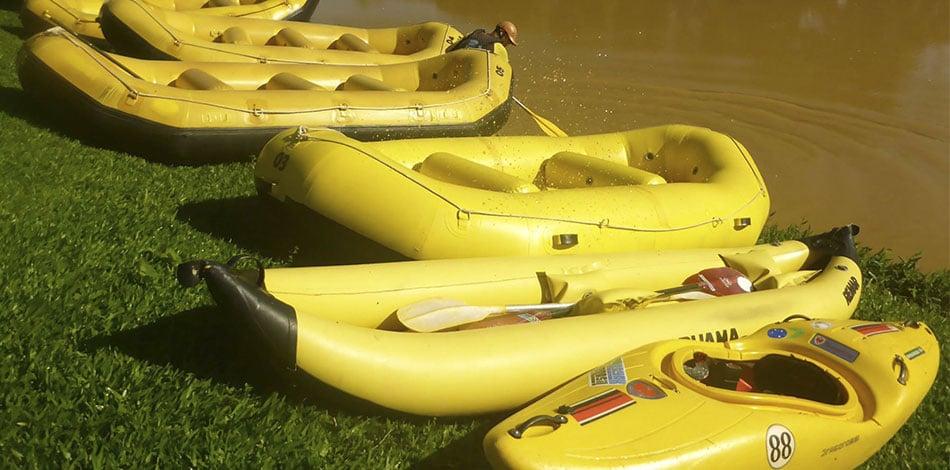 botes para rafting