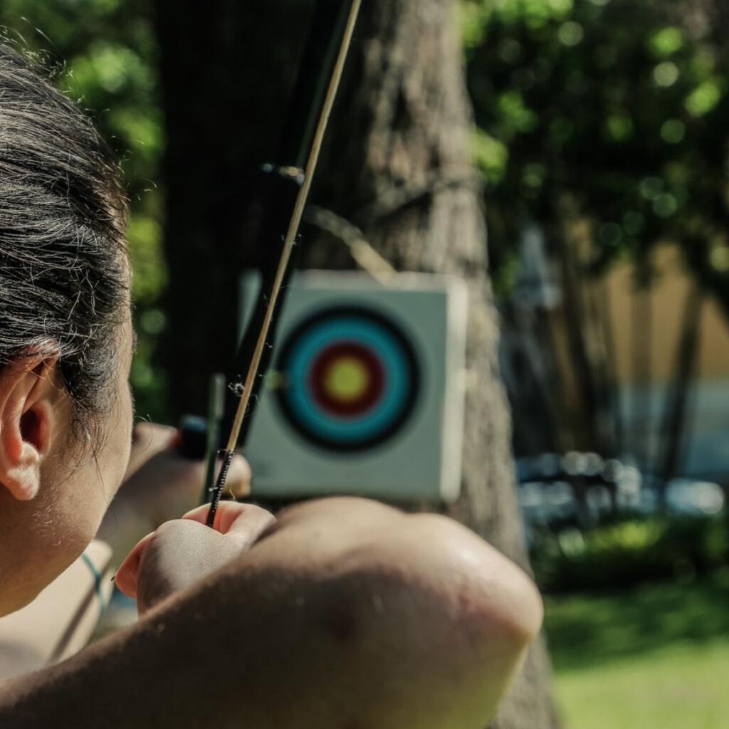 ecoaventuras: arco e flecha